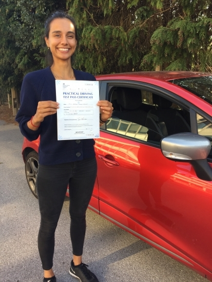 Review for the website: Thank you so much for your patience and kindness with my driving Diana!! Having taken lessons with another instructor, I fully came to realize what a rare find an instructor like Diana is! From the very first lesson with Diana I felt completely supported to learn. Originally I had a lot of doubts and nerves surrounding my driving, but Diana helped transform these with her c