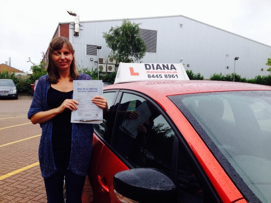 Thanks so much for helping me pass my test couldnacute;t of done it without you<br /> <br /> As a more mature student you helped me gain the confidence I needed and I would recommend you to any learner<br /> <br /> <br /> <br /> Well done Janette just goes to show its never to late to learn- happy driving D;