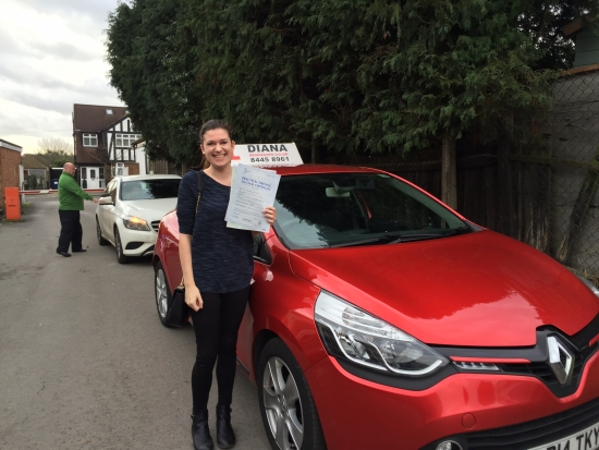 Well done Jenni-will be much easier to get to work now<br />