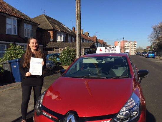 Well done Izzy all that effort paid off and only 2 minors in Barnet All the best at uni xx