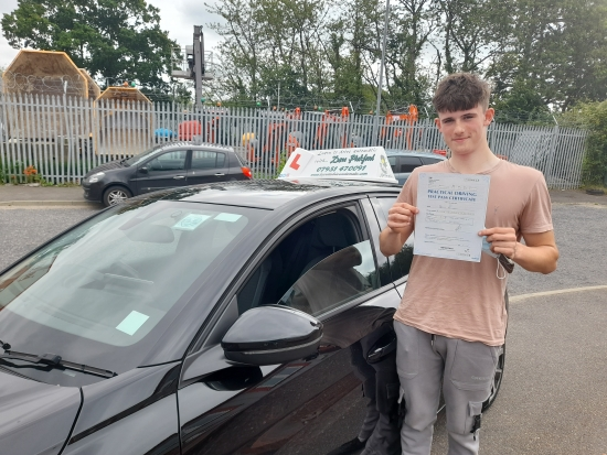 Congratulations to Archie who Passed his Automatic Driving Test this morning at Colchester in #Bumble <br /> Well done on a great drive, you can now join your sister in becoming a taxi for mum & Dad 😂£<br /> Gotta say we´ll done to your mum and dad as well who have been brilliant with the additional practice 👌<br /> Stay safe, bare in mind the feedback given, enjoy that car of yours & w