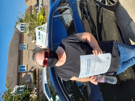 Congratulations to Marcie who Passed her Automatic Driving Test this afternoon at Clacton in #Bumble <br /> I am so pleased for this young lady who initially started this journey some 29 years ago and I think we can safely say she has suprised herself today.<br /> It has been an absolute pleasure, I have enjoyed all the funny little noises along the way too 😂 now it´s time to become a driver in you