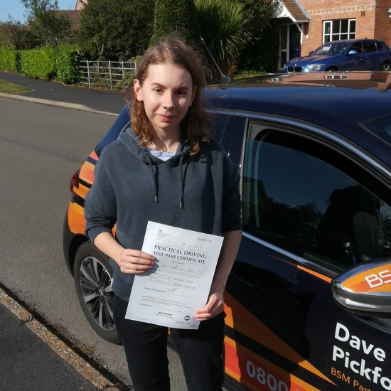 Congratulations to Izzy who Passed her Automatic Driving Test this morning<br /> What can I say its been an absolute pleasure and thank you for the kind words.<br /> Just bare in mind the feedback given, keep on top of that planning, dont rush and most importantly keep yourself safe out there!!<br /> #learntodriveautomaticwithdavepickford #automaticdrivinglessons #colchester #clacton #waltononthenaze #frinton #b