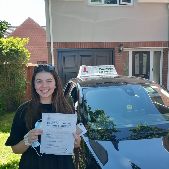 Congratulations to Ella who Pased her Automatic Driving Test this morning at Colchester in #Bumble<br /> Wel done on a great drive I am so pleased for you and can honestly say I am proud of the driver you have become particularly with your decision making.<br /> It hasn´t been easy especially with all the start n stopping due to lock downs so this is long overdue, enjoy the car shopping & independ