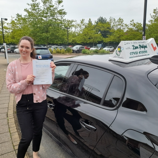 Congratulations to Helen who Passed her Automatic Driving Test this morning at Ipswich in #Bumble <br /> This has been a long time coming with all the goings on in the world but I´m so pleased for you.<br /> I know how much this means to you and your family, it´s going a life changer, well done especially with keeping those nerves under control.<br /> Bare in mind the feedback given especially the pr