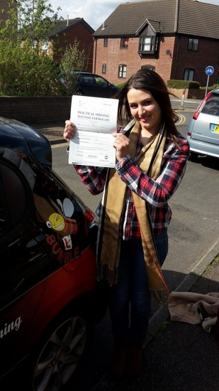 Congratulations to Aishah on passing her Automatic Driving Test at Norwich MPTC in #Bumble<br /> <br /> Well done on a great drive keeping those nerves under control and an even better celebration<br /> <br /> Very excitable yet even more independent well done and keep yourself safe #Proud<br /> <br /> wwwlearntodriveautomaticcom