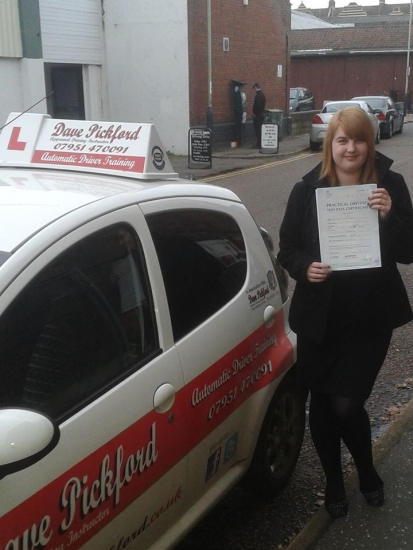 Congratulations to Anna who passed her Automatic Driving Test at Norwich MPTC this afternoon Well done made that parking a little harder than it needed to be but learnt from it all round a good drive fully deserved Im glad I could help remember to Stay Safe<br />