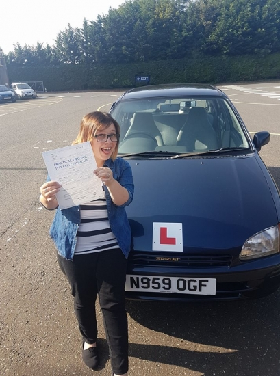 Congratulations to Becky who passed he Automatic Driving Test this morning at #Norwich not in #Bumble but her very own #Daisy <br /> <br /> Well done I no how much you have wanted this and how much it will mean to you bare in mind the feedback given and Stay Safe<br /> <br /> A special mention for your other half Paul who has done a great job with your private practice Steve would be proud<br /> <br /> wwwlearntodriveautomati