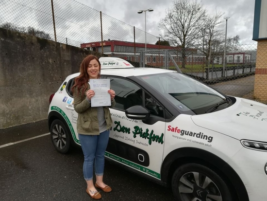 Congratulations to Natasha who passed her automatic driving test this morning at #Norwich in #Bumble #TPDC<br /> <br /> It´s been an absolute pleasure to help this lovely yet slightly bonkers young lady to reach this goal, keep yourself safe out there and definitely no wazzing round corners!!<br /> <br /> www.learntodriveautomatic.com<br /> <br /> www.thepersonaldevelopmentcompany.co.uk