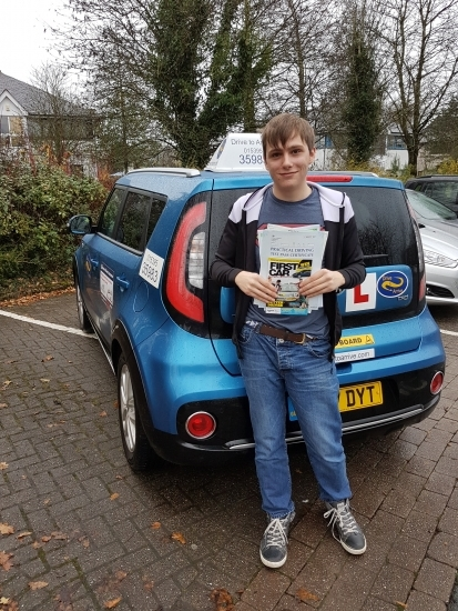 A big well done to Jack from Kendal, for passing his test today. Stay safe and enjoy your new freedom. Thank you for choosing Drive to Arrive.