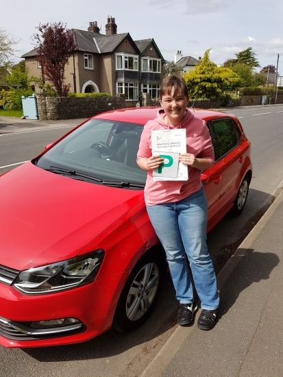 A massive well done to Sophie from Kendal who passed her test today in her own automatic car. Safe driving, enjoy your new freedom and thanks for choosing Drive to Arrive.
