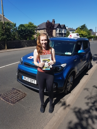 A massive well done to Lorna who passed her test today, first time. Congratulations!  Thanks for choosing Drive to Arrive and see you for Pass Plus.