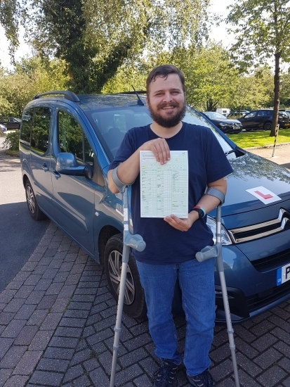 A huge congratulations to Jonny for passing his test today in his own automatic with a clean sheet of no faults!! Well done, enjoy your new found freedom and thanks for choosing Drive to Arrive.