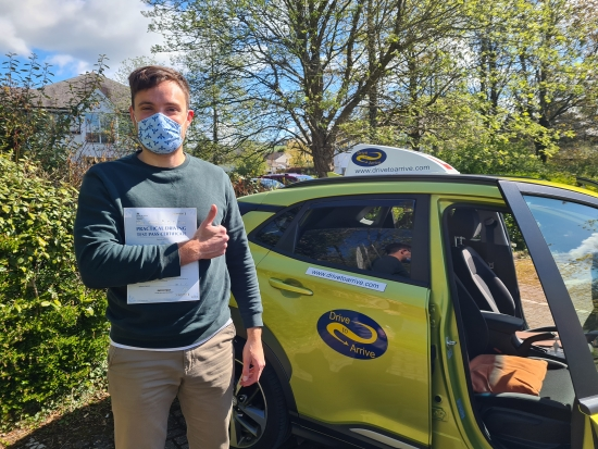 Big congratulations to Jonathan who passed his test today with a great drive. Enjoy your new freedom and thanks for choosing Drive to Arrive.