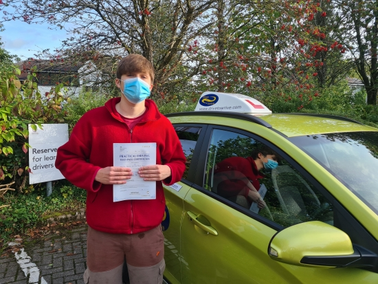 A big congratulations to George who passed his test today first time and with a great drive. Enjoy your new freedom and thanks for choosing Drive to Arrive.