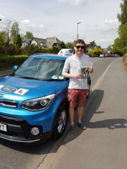 A big well done to Jonty for passing his test today, first time. Congratulations, it was a great drive. Thanks for choosing Drive to Arrive.