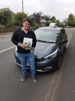 A big well done to Connor for passing his driving test today first time. Congratulations, safe driving and thanks for choosing Drive to Arrive.