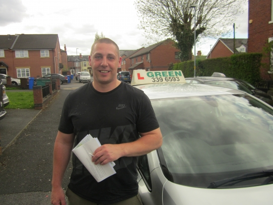 01052018<br /> <br /> Congratulations the Graham Brogan for a First Time pass with just 5 minors<br /> <br /> <br /> <br /> Drive safely Graham