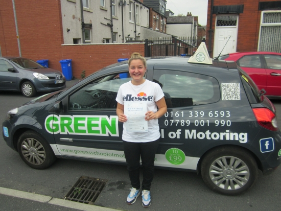 562015 <br /> <br /> Congratulations to Anna Genders who passed 1st time with just 2 minors Anna is one of those students who has learned to drive in months because she came out for every lesson wanting to learn never cancelled listened and enjoyed herself She is now off to America to coach football<br /> <br /> Be safe Anna you were a joy to teach<br /> <br /> <br /> <br /> Anna Genders Awwh thank you so much I just want to than