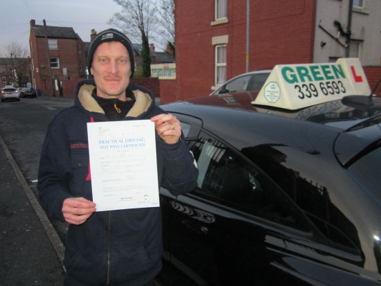 20/11/2019<br /> Well  Done to Craig Millhench, a first time pass with just 2 minors.<br /> Drive safely Craig.