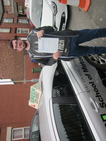 14022018<br /> <br /> Well done to Rob Williams who passed his test today See you on Saturday for Pass Plus