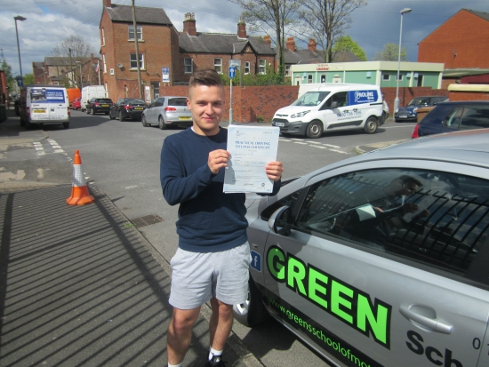 25042016<br /> <br /> <br /> <br /> 25042017<br /> <br /> Congratulations to Joe Fletcher who not only passed his test on his first attempt with just 4 minors the Examiner complimented his saying Thank you very much that was a good drive