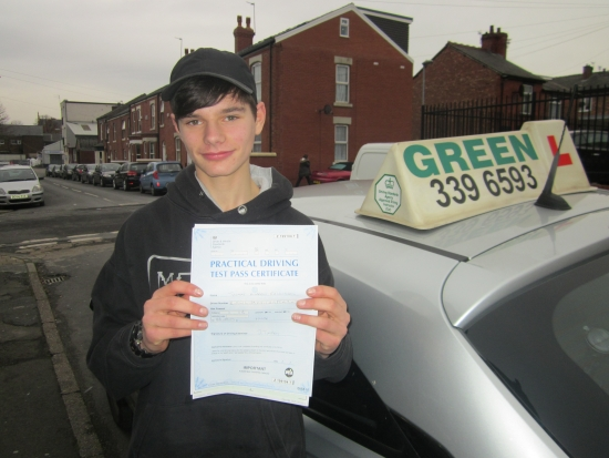 622017<br /> <br /> Well Done Tom Rawlinson a first time pass at last Tom was to take his test on the 17th December ready for ChristmasI gave up a day of my holiday for him then his test was cancelled at the last minute due to not having enough examiners