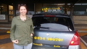 I loved learning how to drive he made me feel really comfortable and was very patient if ever I made mistakes he would explain what I did wrong and helpacute;t me try again until I got the hang of it I was never a confident driver but he praised me and made me feel more confident I will recommend Fab to everyone looking for driving lessons Great instructor excellent driving school<br /> <br /> Moodra
