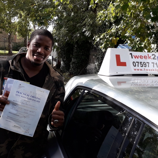 Second pass this week for our driving school