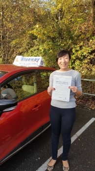 Congratulations Jing Good Job you passed your test today very happy for you All the best