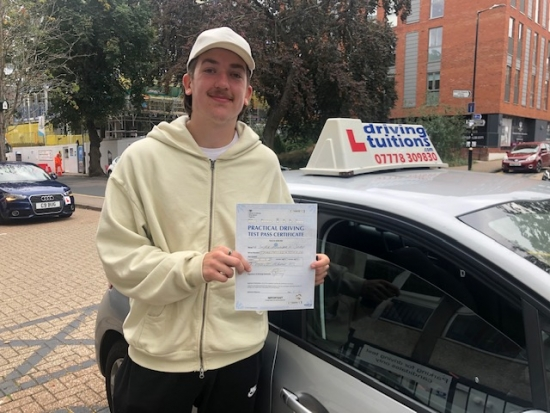 I just passed my test today. Franco has been a wonderful instructor, very patient, encouraging and always helpful. He responds fast to texts, and is very professional. I would highly recommend, thanks a lot Franco!