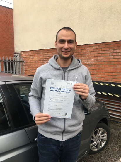 Franco is a very good instructor, he helped me to pass the test in Luton with 0 fault.