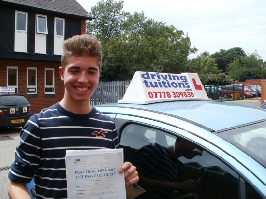 Franco you have been an excellent driving instructor and I have enjoyed every lesson I will now be driving my own car with the skills you taught me Thank You…