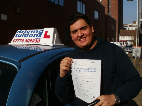 Franco… The most amazing instructor any one could ask for<br />
