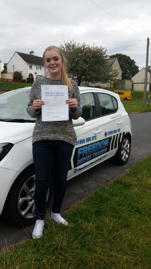 After taking my test twice before with a different instructor I was beginning to lose confidence in driving I had a long break from lessons altogether then I found Julie and with her help I passed third time lucky Very relaxed environment and all the help you need to perfect your driving and get on the road