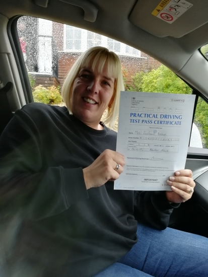 Thank you so much Julie. The best driving instructor EVER!! I couldn´t have done it without you.  Open road here I come :)
