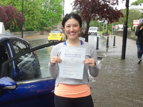 I managed to pass my driving test first time with two minors<br />