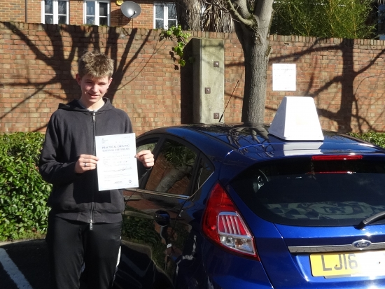I would like to say a big thanks to Richard for helping me pass my driving test first time. Richard is a brilliant driving instructor and I would recommend him to anyone! He is calm, patient and guided me through the whole process providing excellent knowledge, skills and value for money! Furthermore before starting lessons with Richard I had lessons with two other instructors which really highlig