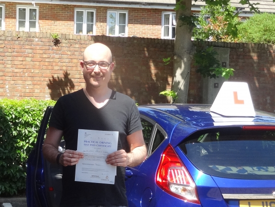 Richard is a really great driving instructor and a great person. I had to pass the UK driving test as my license was not valid in the UK. Although I have 15 years of driving experience, I needed someone to help me get rid of my bad habits and get more familiar with the new roads and rules. Richard was exactly the instructor I needed, very patient and friendly and of course a real professional.<br />