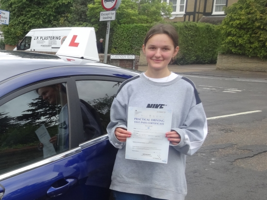 I started driving with Richard after he taught my mum and my brother (they both passed first time!). He has been so patient and understanding throughout the process, I could tell he really wanted me to succeed. Couldn´t have asked for a better instructor - highly recommend!!<br />