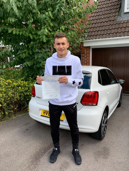 Im so pleased for you Harrison. A great drive with high praise from the examiner.