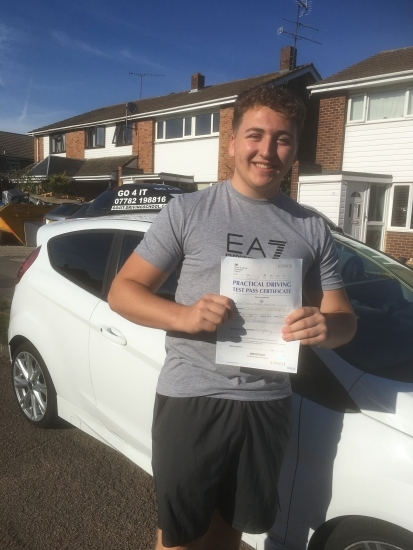 Brilliant drive Matt. 1st time pass and fully deserved.
