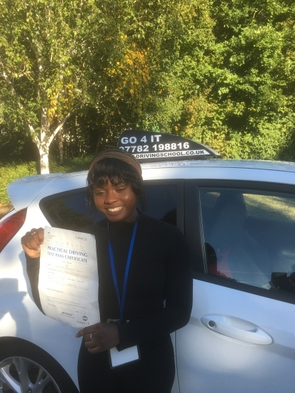 Keeping our wonderful 1st time pass rate sky high. Well done Shakila