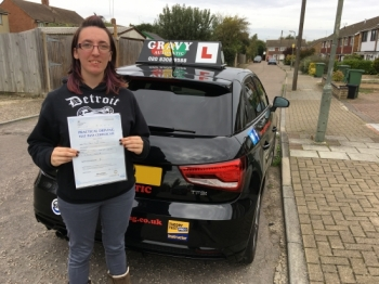 Every lesson was enjoyable and shown in a way that was easy to understand. I learnt a lot of different tips how to understand the vital aspects of driving. Great to pass with just one driving fault.