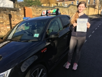 The lessons covered everything that was necessary to pass my test. I felt confident and sure in my ability to drive due to the preparation we did beforehand and I am very pleased to have passed my test with 2 minors.