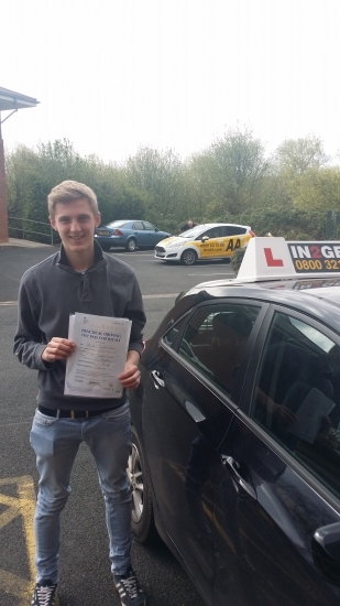 Felix passed first time on 17414 Well done Felix - you did the job