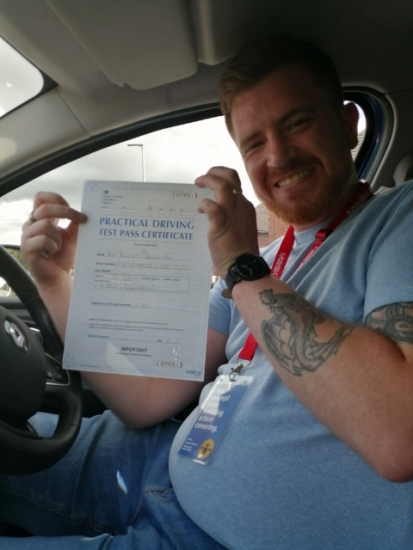 Daniel Fair passed on 10/5/21 with Peter Cartwright! Well done!