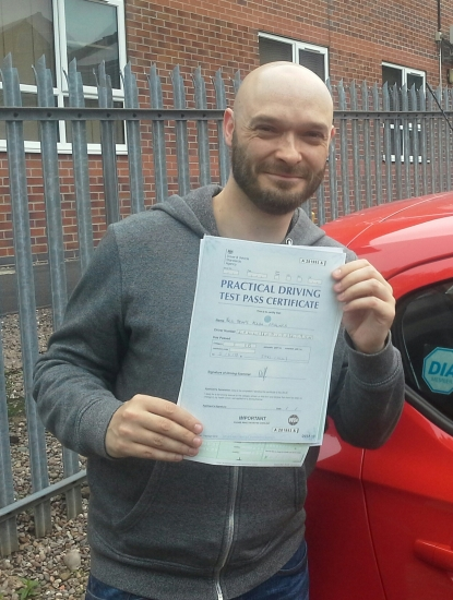 Neil Rawlings passed on 5618 with Garry Arrowsmith Well done<br /> <br /> Neil says I cannot thank Garry Arrowsmith enough Such a brilliant instructor very patient and calm He has great ways of explaining and has taught me skills for life I was a nervous wreck when I first started learning but with Garryacute;s help I managed to pass first time I highly recommend IN2GEAR and shall be spreading th