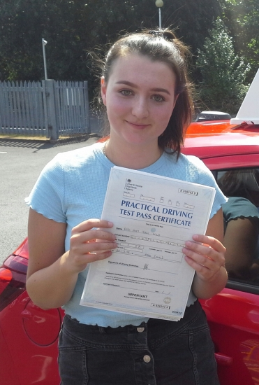 Amy passed on 25/7/18 with Garry Arrowsmith! Well done!