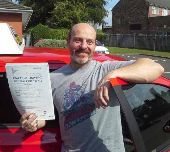 Terry Horn passed on 1/9/18 with Garry Arrowsmith! Well done!
